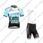 2015 Team LOTTO JUMBO Riding Bib Kit Blue