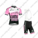 2015 Team LOTTO JUMBO Riding Bib Kit Pink