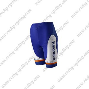 2015 Team Rabobank Womens Lady Riding Shorts Bottoms White Blue Orange