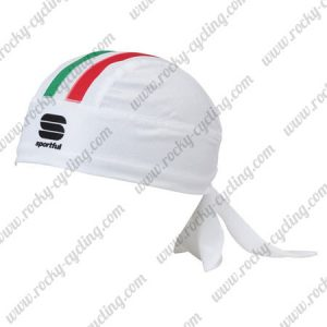 2016 Team ITALIA Sportful Cycling Bandana Head Band White