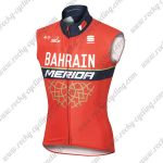 2017 Team BAHRAIN MERIDA Cycling Vest Sleeveless Jersey Red