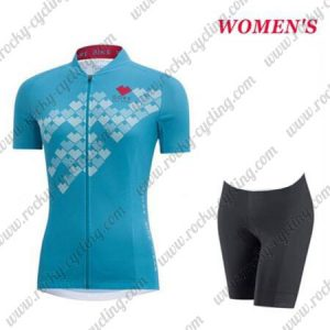 2017 Team GORE Women's Lady Biking Kit Blue
