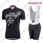 2017 Team GORE Women's Lady Cycling Bib Kit Black