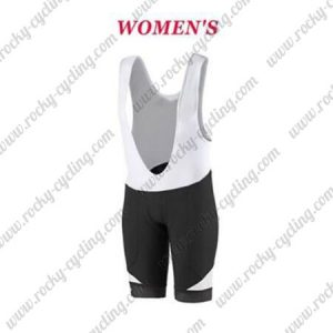 2017 Team SCOTT Womens Lady Riding Bib Shorts Bottoms Black White