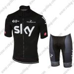 2017 Team SKY Cycle Kit Black