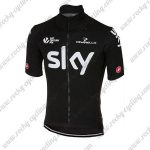 2017 Team SKY Riding Jersey Maillot Black