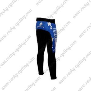 2010 Team BMC HINCAPIE Biking Pants Tights Blue Black