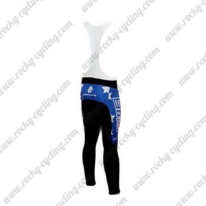 2010 Team BMC HINCAPIE Cycling Bib Pants Tights Blue Black