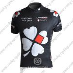 2010 Team FDJ Cycling Jersey Maillot Shirt Black
