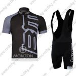 2011 Team BMC Cycle Bib Kit Black Grey