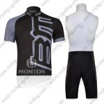 2011 Team BMC Racing Bib Kit Black Grey