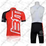 2011 Team BMC Racing Bib Kit Red Black
