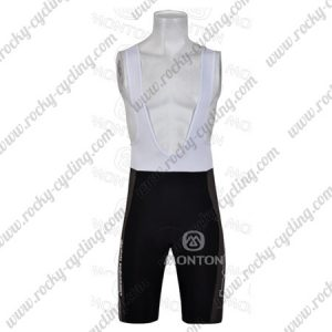 2011 Team BMC Riding Bib Shorts Bottoms Black Grey