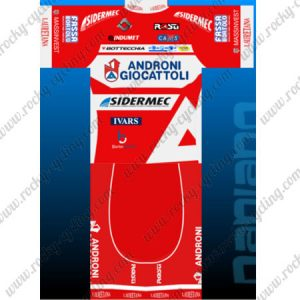 2017 Team ANDRONI GIOCATTOLI Cycling Set Red