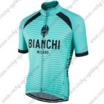 2017 Team BIANCHI MILANO Biking Jersey Maillot Shirt Green