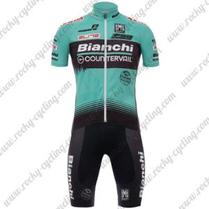2017 Team Bianchi COUNTERVAIL Cycling Set Blue Black