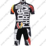 2017 Team Cinelli CHROME Cycling Set Black White