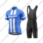 2017 Team GIANT Cycling Set Blue White