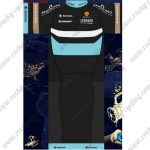 2017 Team GIANT LEOPARD Cycling Set Black Blue