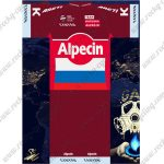 2017 Team KATUSHA Alpecin Cycling Kit Red White Blue