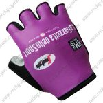 2017 Team LaGazzetta dello Sport Cycling Gloves Mitts Purple
