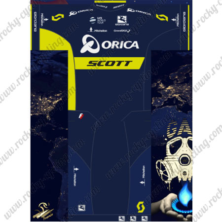 2017 Team ORICA SCOTT Riding Outfit Summer Winter Cycle Jersey and ... 2f878dd57