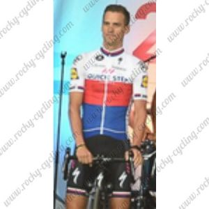 2017 Team QUICK STEP Cycling Set White Red Blue
