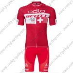 2017 Team SCOTT odlo Cycling Set Red
