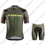 2017 Team TREK Bike Kit Olive Green