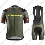 2017 Team TREK Cycling Bib Kit Olive Green
