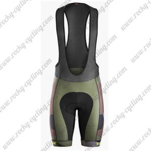 2017 Team TREK Cycling Bib Shorts Bottoms Olive Green