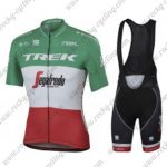 2017 Team TREK Segafredo Italy Champion Cycling Bib Set Green White Red