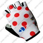 2017 Tour de France Cycling Gloves Mitts Polka Dot