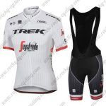2017 Team TREK Pro Riding Bib Kit White