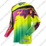 2014 FOX SIXSTAR Downhill MTB Racing Jersey Shirt Yellow