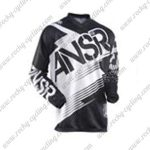 2015 ANSR Alpha Motocross MTB Outfit Racing Jersey Black White