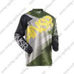2015 ANSR Alpha Motocross MTB Outfit Racing Jersey Black White Army Green