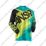 2015 ANSR Alpha Motocross MTB Outfit Racing Jersey Black Yellow Blue