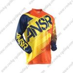 2015 ANSR Alpha Motocross MTB Outfit Racing Jersey Blue Yellow Orange