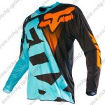 2015 FOX Motocross Racing Jersey Shirt Blue Black Orange2015 FOX Motocross Racing Jersey Shirt Blue Black Orange