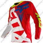 2015 FOX Motocross Racing Jersey Shirt Red White Yellow
