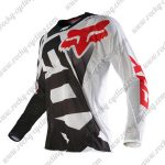 2015 FOX Motocross Racing Jersey Shirt White Black Red
