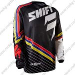 2015 SHIFT SIXSTAR DownHill MTB Apparel Off Road Jersey Black