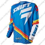 2015 SHIFT SIXSTAR Motocross MTB Apparel Off Road Jersey Blue