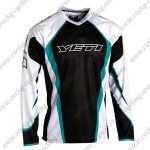 2015 YETI Motocross MTB Outfit Off Road Riding Jersey Black White Blue