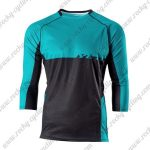 2015 YETI Motocross MTB Outfit Off Road Riding Jersey Blue Black