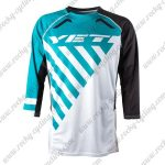 2015 YETI Motocross MTB Outfit Off Road Riding Jersey Blue White Black
