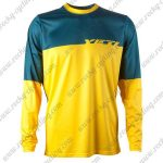 2015 YETI Motocross MTB Outfit Off Road Riding Jersey Blue Yellow