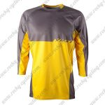 2015 YETI Motocross MTB Outfit Off Road Riding Jersey Grey Yellow