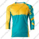 2015 YETI Motocross MTB Outfit Off Road Riding Jersey Yellow Blue